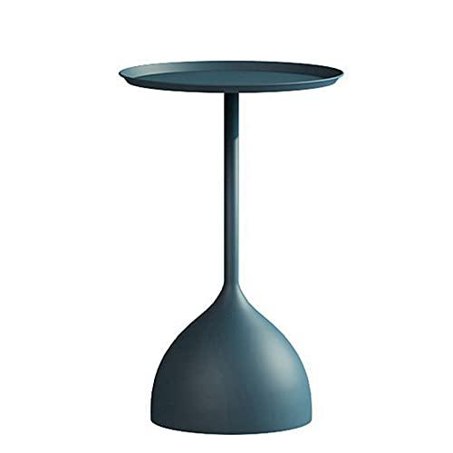 Mesa de Centro Mesa de mármol de Metal Creativo, Adornos Decorativos para el sofá en la Sala de Estar, terraza jardín Mesa de Centro (Color : Style5)