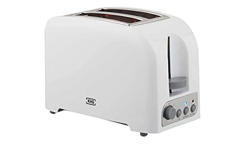 KHG Toaster Weiß Kunststoff 25,0cm B x 18,0cm H