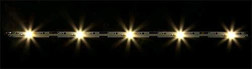 Faller 180654 2 Tiras de luz LED, Blanco cálido, 180 mm (2...