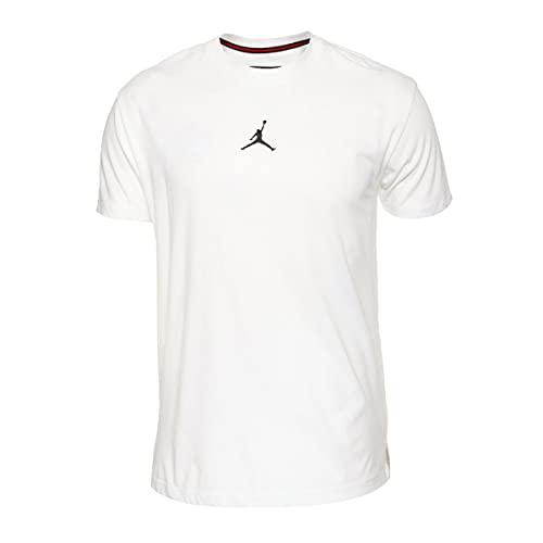 NIKE Camiseta para Hombre DF Air Dry GFX SS, Hombre, Camiseta, DA2694, Negro/Blanco, Small