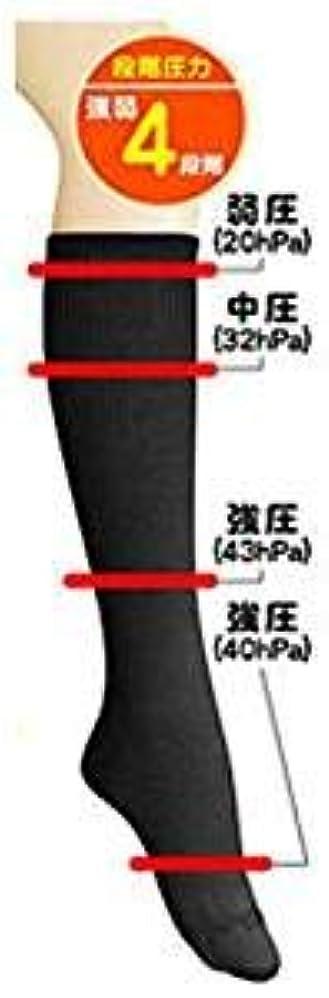 電気的面積せせらぎ超美圧ソックス ブラック 【3足組】