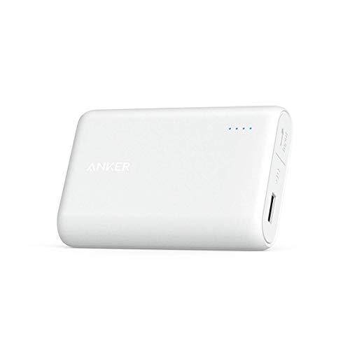 Anker Batteria Portatile USB PowerCore 10000 - Caricabatteria Portatile da 10000 mAh Ultra Compatta - Batteria Esterna Power Bank Alta Capacità per Huawei, Samsung, iPhone, Asus, LG e Altri
