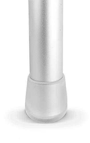 Lifeswonderful - 16 Pezzi: Molti Dimensioni - Tappi Piedini Trasparenti a Cupola Per Gambe Dei Mobili Tavoli Sedie