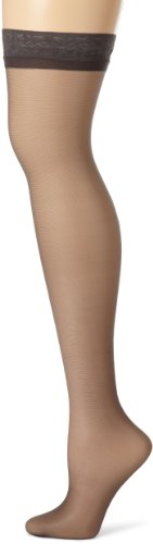 Hanes Women's Silk Reflections Thigh-High Stockings