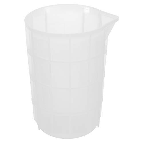 Artibetter Tasses à Mesurer 750 ML pour Résine Silicone Tasses à Mélanger Antiadhésives Outils de Colle Ingrédients de Cuisine Et de Maquillage pour Rendre L'artisanat Artisanal Réutilisable