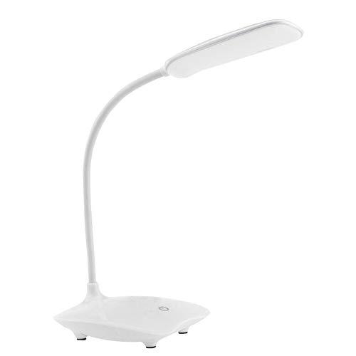 ZZSSC Lámpara de Escritorio LED Tabla táctil dimmable Plegable 6500K Lámpara de Noche portátil