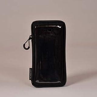オーストリッチ スマホケース S(シングル) ブラック
