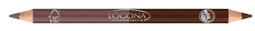 Logona Natural Double Eyeliner Pencil - 05 Rosewood .5 oz (japan import)