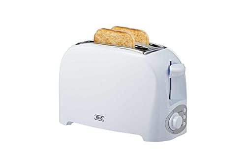 KHG Toaster Weiß Kunststoff 27,0cm B x 17,5cm H