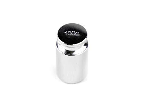 Bullet - 100g gewicht - Kleur: Zilver - 100 gram gewicht steen voor het kalibreren van digitale weegschalen