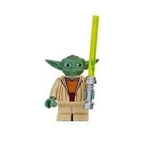 Yoda (Clone Wars) - LEGO Star Wars Figure with Lightsaber by LEGO