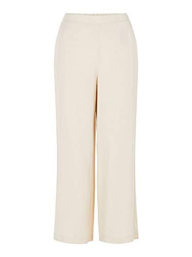 Vero Moda Vmindeed Culotte Pants VMA Pantalones, Beige (Birch Birch), 40...