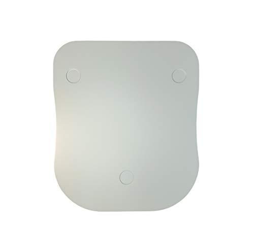 thermoBase Premium Gleitbrett aus holz/Inwood/für Thermomix TM6/TM5/2 Teflon-Gleitsohlen/2 Gummistoppern/ (ice gray)