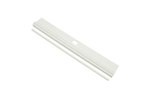 GARDINIA Lamellenalter, 10 Stück, Für 12,7 cm Lammellenbreite, Kunststoff, Weiß