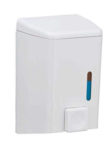 WENKO Seifenspender Cremona Weiß Duschlotion-Spender Badezimmer-Spender Spülmittel-Spender Badaccessoires Badezimmer