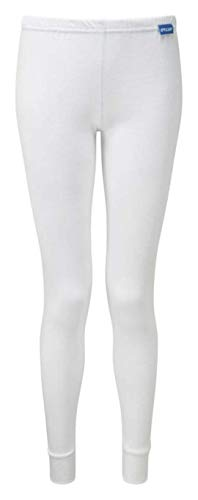 PULSAR BZ1552 Blizzard - Pantaloni lunghi termici, da donna, colore: bianco, 12