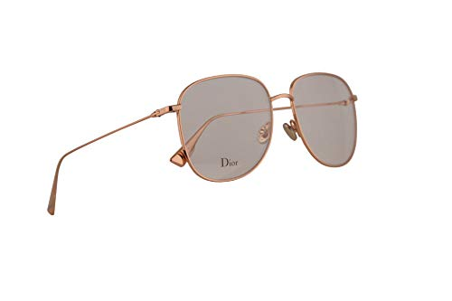Christian Dior DiorStellaireO8 Brille 56-16-145 Gold Kupfer w/Demo Clear Lens DDB StellaireO8 DiorStellaireo8 DiorStellaireo 8