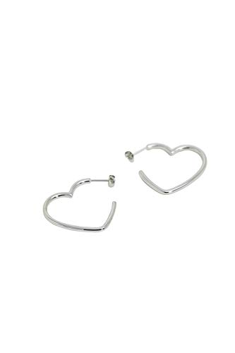 Esprit Herzförmige Ohrringe aus Edelstahl