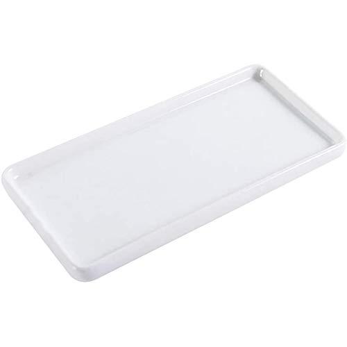 GAKIN - Vassoio portaoggetti da bagno in porcellana, per gioielli, 227 x 94 x 15 cm