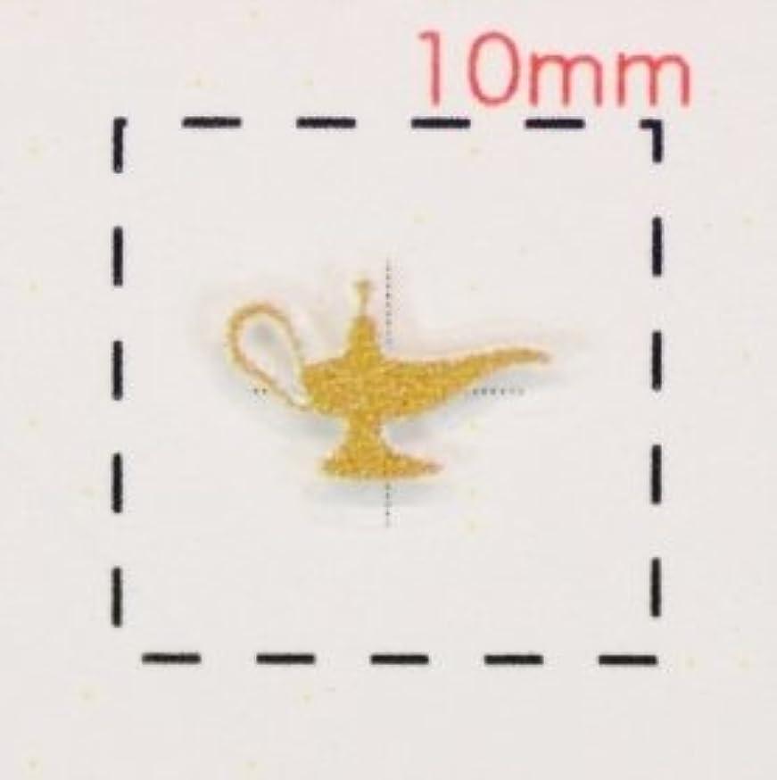 磁石ガイダンスマイコン3Dネイルシール【ロココ(モロッコ)調】ランプ(1)ピンクゴールド1シート16枚入