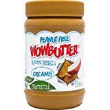 Wowbutter Natural Peanut Free Creamy 11lb Jars Pack of 2