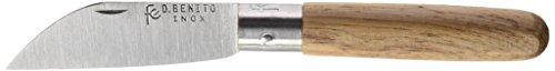 Flores Cortés – Couteau Coupe Droite INOX 100 mm.