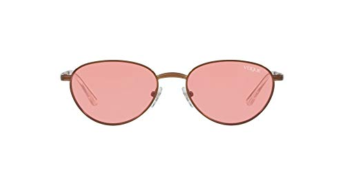 Vogue 0vo4082s 507484 53 Montures de lunettes, Marron (Copper Light Brown), Femme