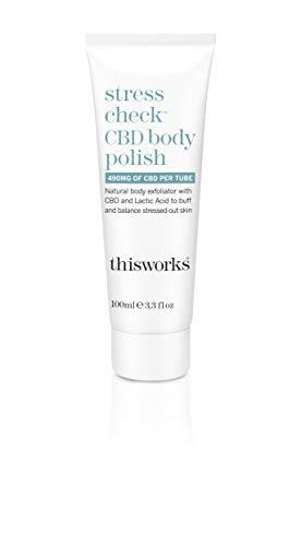 This Works Stress Check CBD Body Polish 100ml