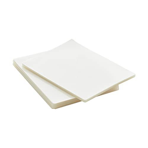 Amazon Basics Clear Thermal Laminating Plastic Paper Laminator Sheets - 9 x...