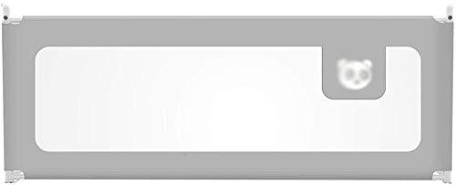 MY1MEY Schutzschiene 5-Fach höhenverstellbare Bettschiene, bruchsicheres Geländer Vertikales Hebesperrrohr 120-220 cm (eine Scheibe) (Farbe