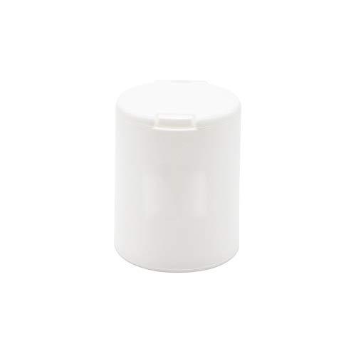 XVXFZEG Portátil de gran capacidad Ronda palillo de dientes dispensador, palillo de dientes de plástico Cubo, palillo titular, caja de almacenaje hisopo de algodón, conveniente for el Ministerio del I