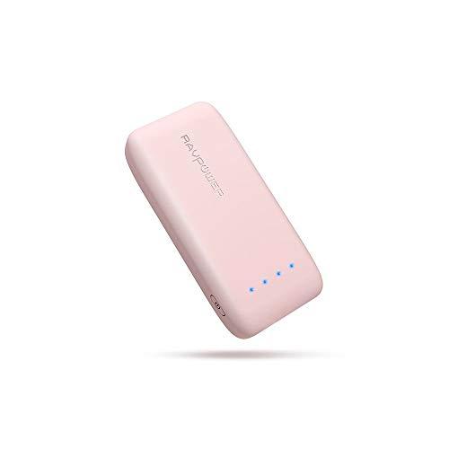 RAVPower 6700mAh モバイルバッテリー 急速充電 (最小 最軽量 /2019年6月時点) iPhone/Andorid 等対応 携帯...