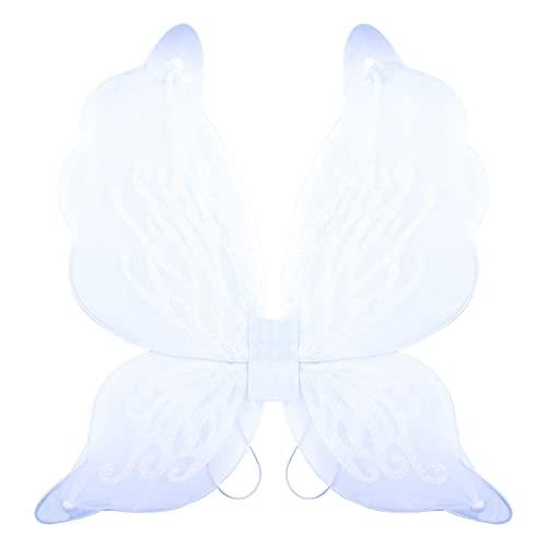 Mantimes Disfraz de alas de hadas de mariposa para fiesta de cumpleaños