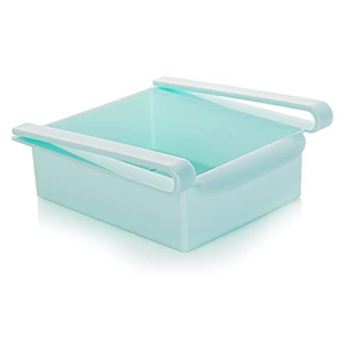 Selotrot Organizadores de cocina para nevera, almacenamiento ajustable para cajones de nevera, caja de clasificación, organizador de almacenamiento para verduras y frutas