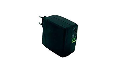 Elsist Grupo continuidad Ups protección módem Router, evita interrupciones internet, 90-246 VAC, 25 W, batería de litio 2600 mAh, 3 horas de autonomía