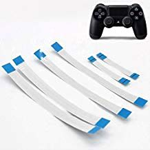 Ambertown 6PCS for Sony PS4 Controller 12 Pin 14 Pin Charging Board Flex Cable 10 Pin Touch Pad Flex Ribbon Cable