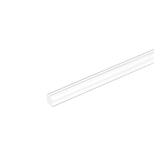 sourcing map Acryl Plexiglas Stab quadratisch Acryl Plastik PMMA Stange 6mmx6mmx20
