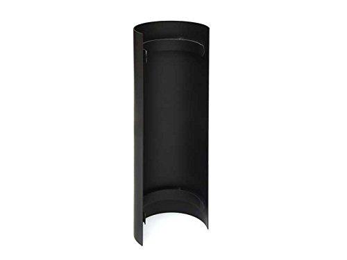 Hitzeschutz-Rohrblende schwarz 46cm