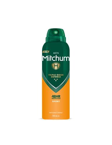 Mitchum Men Triple Odor Defense 48HR Protection Aerosol Deodorant &...