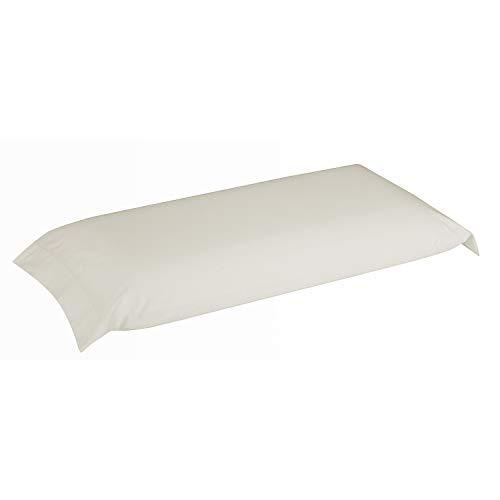 Pikolin Home - Funda de almohada 100% algodón, transpirable y de 150 hilos calidad extra en color natural