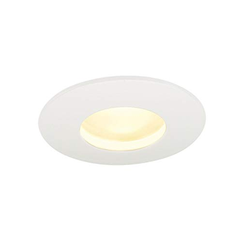 KIT OUT 65 LED ROND, encastré, blanc, 12W, 3000K, 38 °, alim incluse