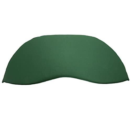 KMH®, Grünes Sitzkissen für 3-sitzer Bananenbank (#105060)