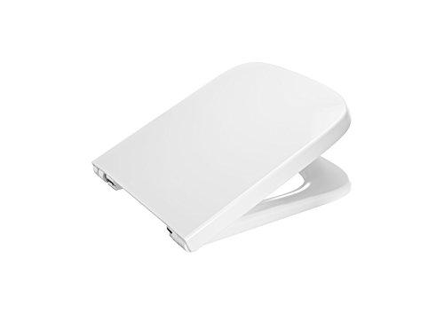 Roca A80178B004 - Tapa y asiento compactos para inodoro, colección Dama, color blanco