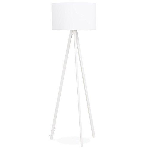 KoKoon FL00390WHWH TRIVET Lampadaire Plastique 40 W E27 Blanc 55 x 55 x 159 cm