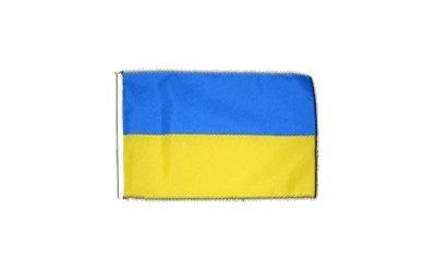 Fahne Flagge Ukraine 30 x45 cm