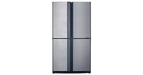 Sharp SJ-EX770PSL frigorifero side-by-side Libera installazione Argento 556 L A++