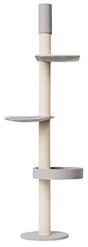 Kratzbaumland Designer-Kratzbaum Q55 Deckenspanner (versch. Größen)(247-261 cm)