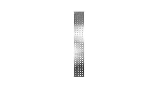 Lochblech Einsatz für Sichtschutz Garten-Zaun Wyk im Maß 25 x 179 x 0,1 cm