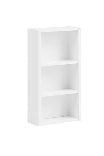 Schildmeyer Trient Regal 147496, Holzwerkstoff, weiß matt, 38 x 17 x 70,7 cm
