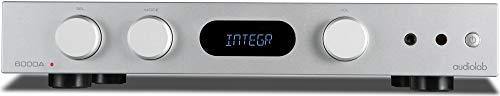 Audiolab 6000A 100-watt Stereo Integrated Amp/Bluetooth DAC - Silver